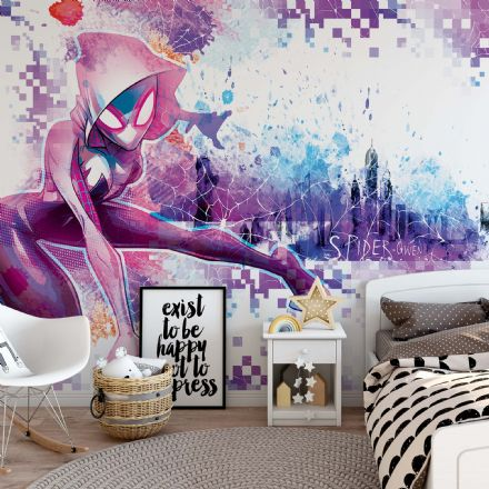 Spider Gwen wallpaper Marvel mural
